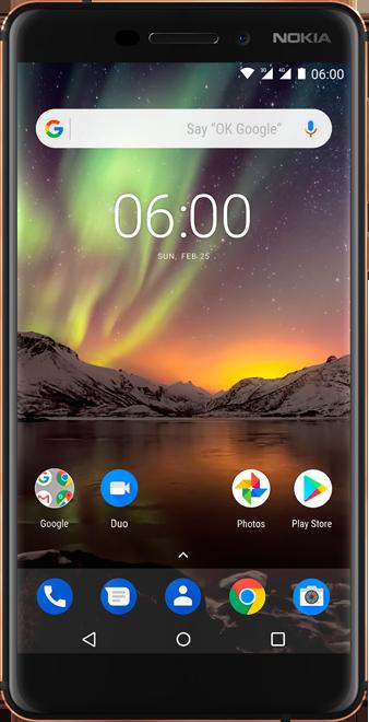 Nokia 6 (2018) - VOO