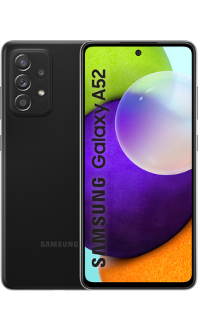 Samsung Galaxy A52 128GB LTE - noir