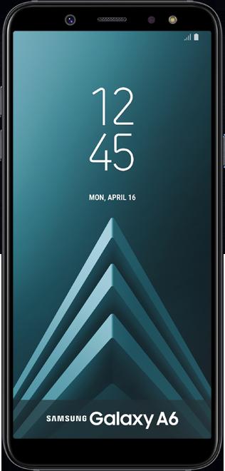 Samsung Galaxy A6 Noir - VOO